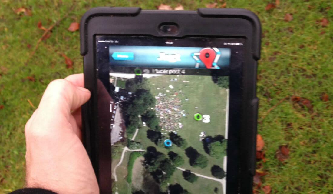 QR-løb og iPad løb
